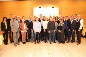 Die Freien Wähler Marktheidenfeld haben ihre Stadtratsliste aufgestellt. Foto: Christian Weyer